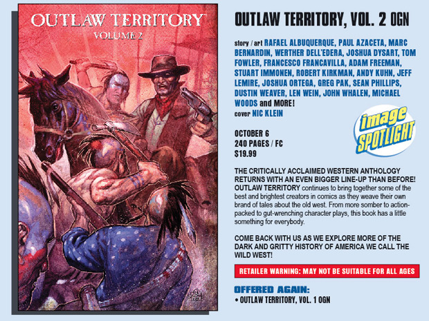 Outlaw Territory 2 in Previews